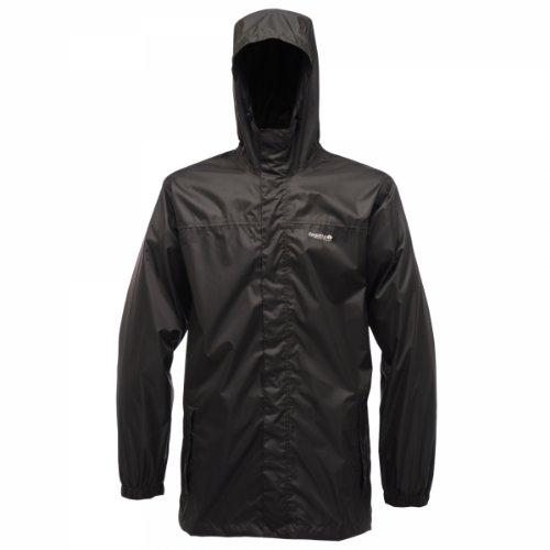 Regatta Men's Pack it Waterproof Packaway Jacket - Black, XXX-Large