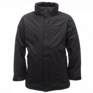 Regatta Men's Telman 3 In 1 Water Proof Jacket - Black/Black, Medium