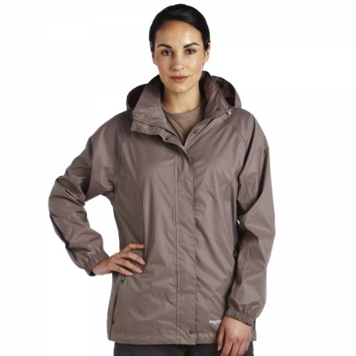 Regatta Women's Joelle III Waterproof Jacket - Cocon(Ceram), Size 18
