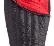 Marmot Plasma 40 Down Sleeping Bag, 20010-1181-L, Black/Team Red, LZ