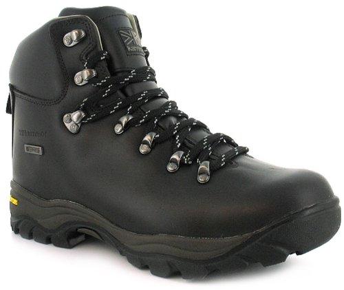 Mens/Gents Brown Karrimor Leather Waterproof Walking Boots - Brown - UK 7-12