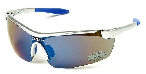 New X-Loop Sports / Fashion Sunglasses - Full UV Protection (UVA & UVB) - Model: X-Loop 3550 - Unisex Sunglasses, Adults Unique Size - Durable Ski / Sports / Sunglasses