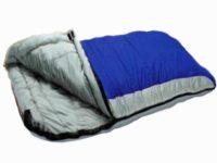 Redstone deluxe double sleeping Bag - splits into 2 singles - xl size - 210cm x 170cm - 2 layers of fill - season 3