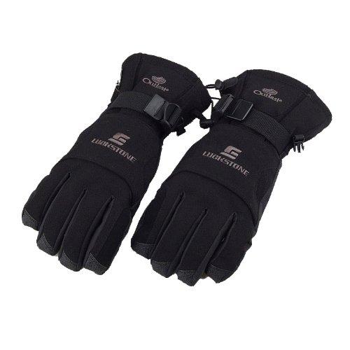 Dodocool Men Fleece Thermal Winter Waterproof Warm Gloves
