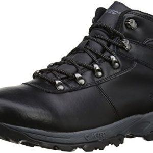 Hi-Tec Men's Eurotrek II Waterproof Trekking and Hiking Boots O003223/021/01 Black 9 UK, 43 EU