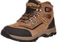 Hi-Tec Men's Hillside Waterproof Trekking and Hiking Boots O003168/041/01 Smokey Brown/Gold 11 UK, 45 EU
