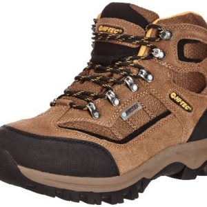 Hi-Tec Men's Hillside Waterproof Trekking and Hiking Boots O003168/041/01 Smokey Brown/Gold 11 UK, 45 EU