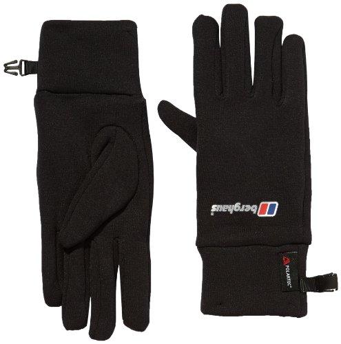 Berghaus Unisex Powerstretch Gloves - Black, Small/Medium