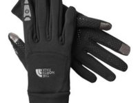 NORTH FACE ETIP GLOVE - the perfect way to use a touch phone with gloves!, Colour: TNF Black (JK3), Size: S