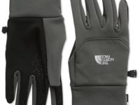 The North Face  Etip Glove - Black Ink Green, Large