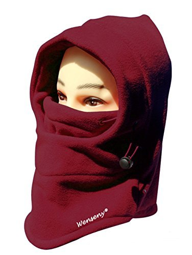 in-1-Thermal-Warm-Fleece-Balaclava-Hood-Police-Swat-Ski-Bike-Wind ...