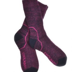2 Pairs of Wool Coolmax Walking socks