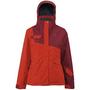 Scott W Hollis 80 Jacket - True Red - M - Womens waterproof windproof Gore-Tex® snow sports jacket