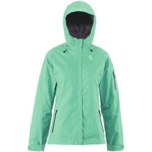 Scott W Quorra 100 Jacket - Arcadia Green - L - Womens high quality technical Gore-Tex® ski and snowboard jacket