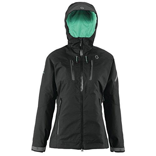 Scott W Quorra 150 Jacket - Black - XS - Womens high quality technical Gore-Tex® snow sports jacket