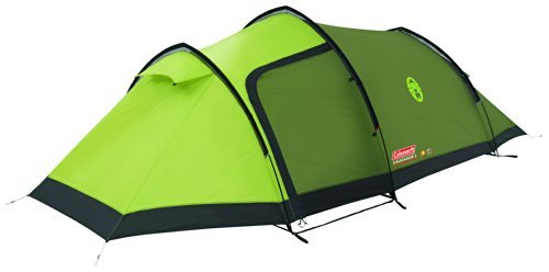 Coleman Caucasus 300 Tunnel Tent - Green Three Person  sc 1 st  Mens Hiking boots u2013 Hikingboot.co.uk : cheap three man tent - memphite.com