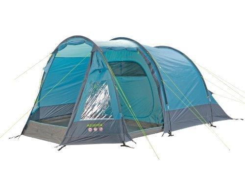 Gelert Atlantis 4 Tent - Aegean Blue/Cameo Blue/Charcoal