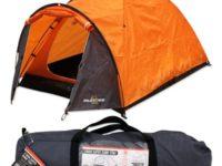 Milestone Camping Super Dome Two Person Tent - Orange