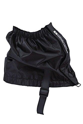 Mountain Warehouse Waterproof Walking Hiking Trekking Windproof Adjustable Ankle Gaiters Black Medium / Large
