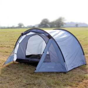 North Gear Camping Exodus Waterproof 4 Man Tent blue