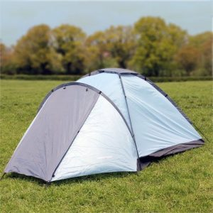North Gear Camping Mono 3 Man Waterproof Tent Blue