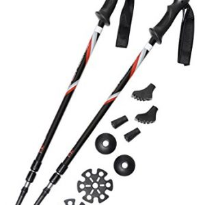 Pair of Trekrite Active Antishock Walking Poles / Hiking Sticks
