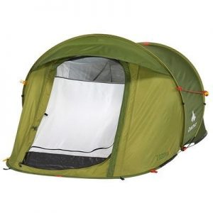 WATERPROOF 1 MAN POP UP TENT/FISHING SHELTER/FESTIVALS. BY QUECHUA