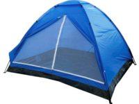 Yellowstone 2 Person Tent - Blue, 200x120x100 cm