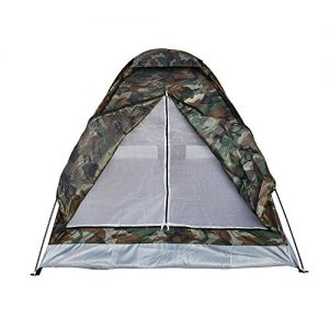 douself® Outdoor Camping Tent for 1-2 Person Single Layer Waterproof Portable Camouflage