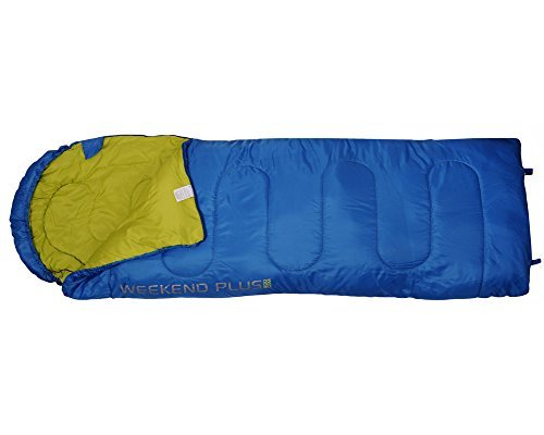 4F Weekend Mummy Camping Sleeping Bag (blue and green) a little bit about hikingboot