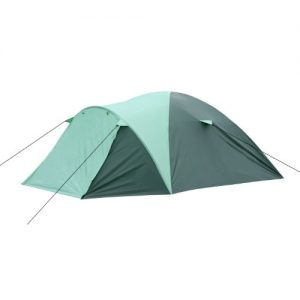 CampFeuer® - Igloo/Dome-Tent with Porch for 3 Persons, Green