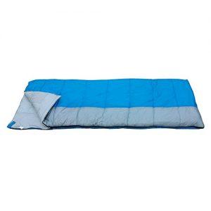 Redstone XL Single Sleeping Bag - Warm 400gsm Fill - 210 Length - Season 3 Adult