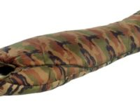 Wilsa Cervin Camouflage mummy sleeping bag, multi-layer, reinforced shell