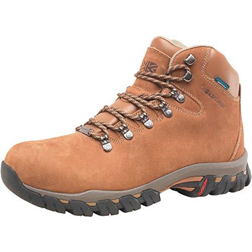 e04fefca11f Mendip Brown Brown Karrimor Mens Mendip Nubuck 2 Weathertite Hiking Boots  Brown
