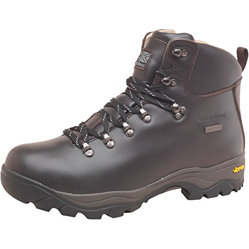 Mens Karrimor KSB Orkney III Weathertite Hiking Boots Brown Guys Gents