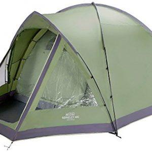 Vango Berkeley 400 Dome Tent - Green, 4 Persons