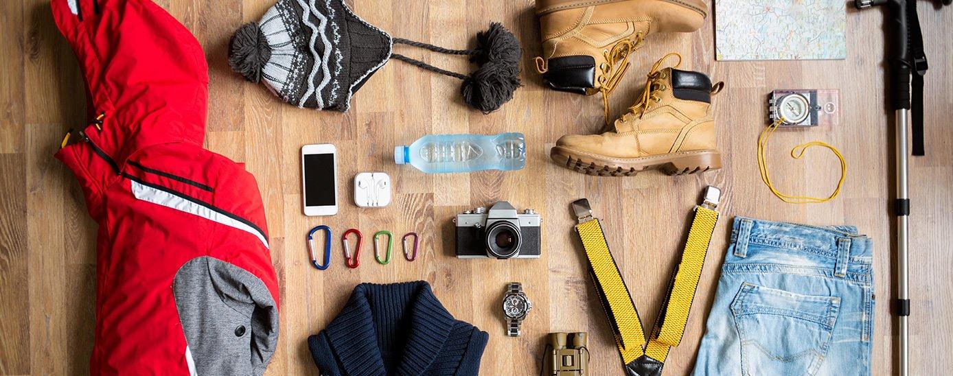 steps in choosing the best hiking equipment