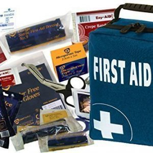 150 Pcs - Ultimate First Aid Kit Bag - CE Products - Inc. Eyewash, Ice Packs, Emergency Blanket