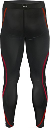 New 197 Black Skin Tights Compression Leggings Base Layer Running Pants Mens