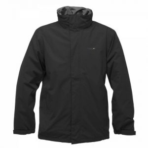 Regatta Men's Matthews Waterproof Jacket - Black, XX-Large