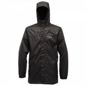 Regatta Men's Pack it Waterproof Packaway Jacket - Black, XXX-Large