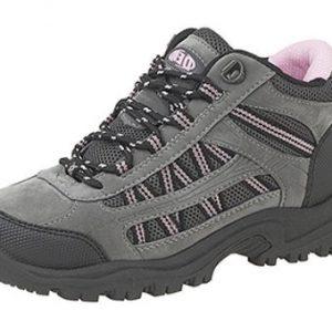 New Dek Ladies Womens Grey Pink Black Hiking Walk Trek Trail Boots Sizes 3 to 8
