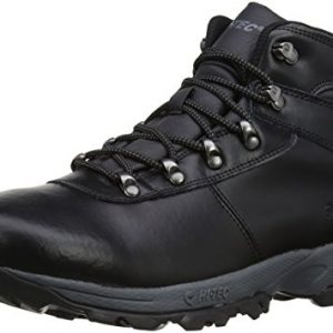 Hi-Tec Men's Eurotrek II Waterproof Trekking and Hiking Boots O003223/021/01 Black 9 UK, 43 EU