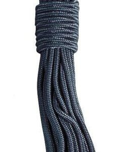 3mm x 15m 50ft Black General Purpose Strong Utility Purlon Rope Cord Nylon Army