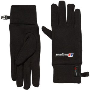 Berghaus Unisex Powerstretch Gloves - Black, Small/Medium