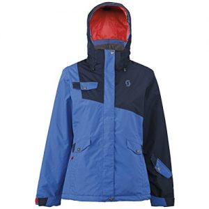 Scott W Hollis 80 Jacket - Black Iris / Olympian Blue - M - Womens waterproof windproof Gore-Tex® snow sports jacket