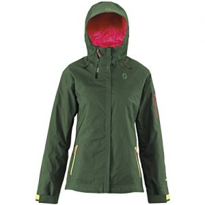 Scott W Quorra 100 Jacket - Sycamore Green - M - Womens high quality technical Gore-Tex® ski and snowboard jacket