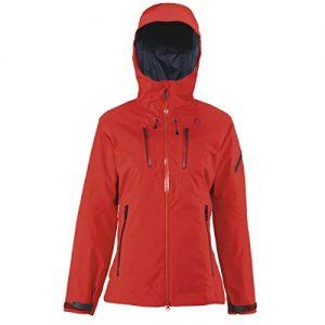 Scott W Quorra 150 Jacket - True Red - M - Womens high quality technical Gore-Tex® snow sports jacket