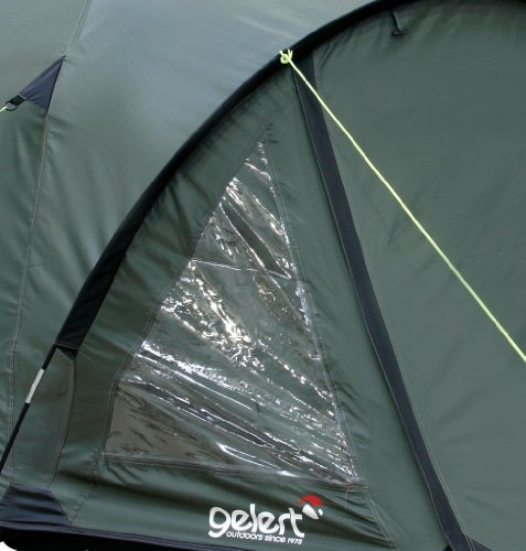 Gelert Rocky 3 Person Tent Olive