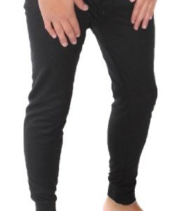 Mens Thermal Long Johns / Pants / Bottoms Colour: Black Size: 5XL (XXXXXL)